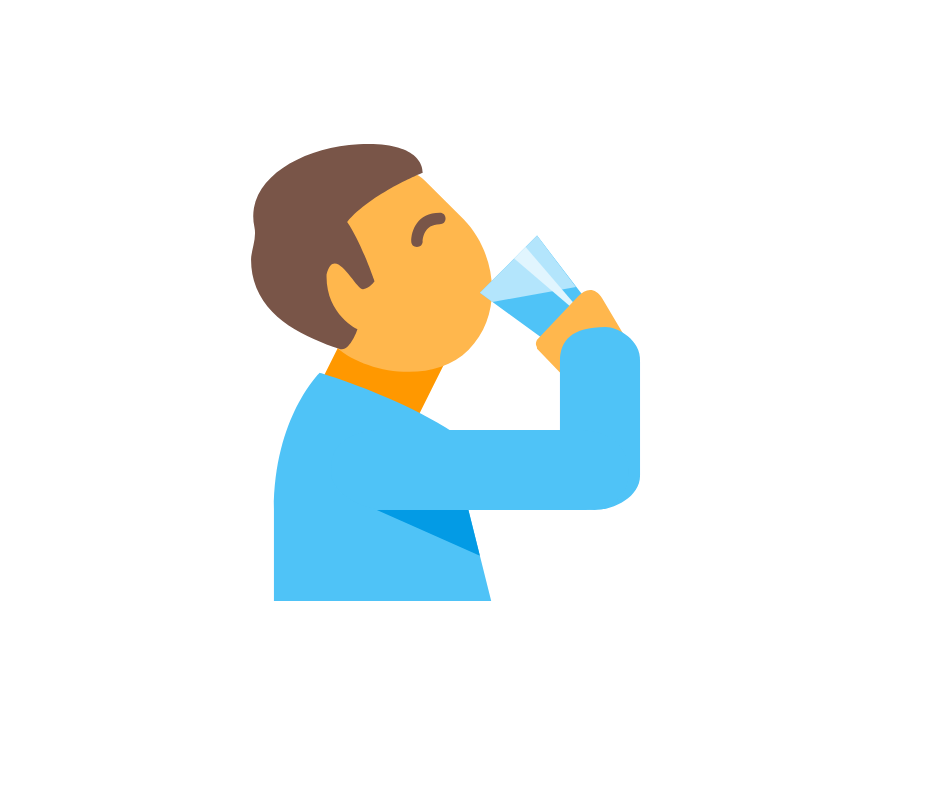 Хидратация Жажда Вода