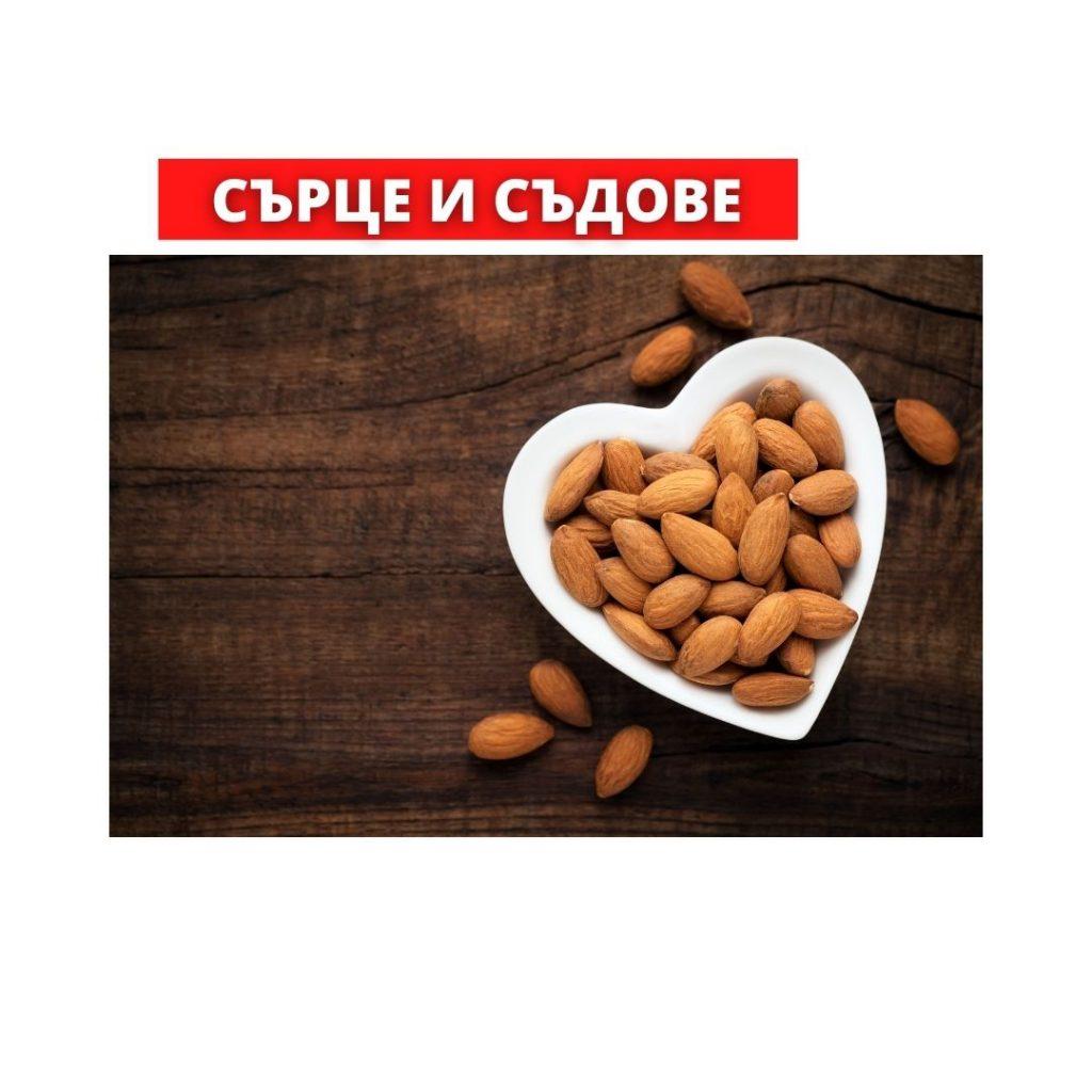 Бадемов Тахан, Бадеми, Сърце, холестерол, Ползи